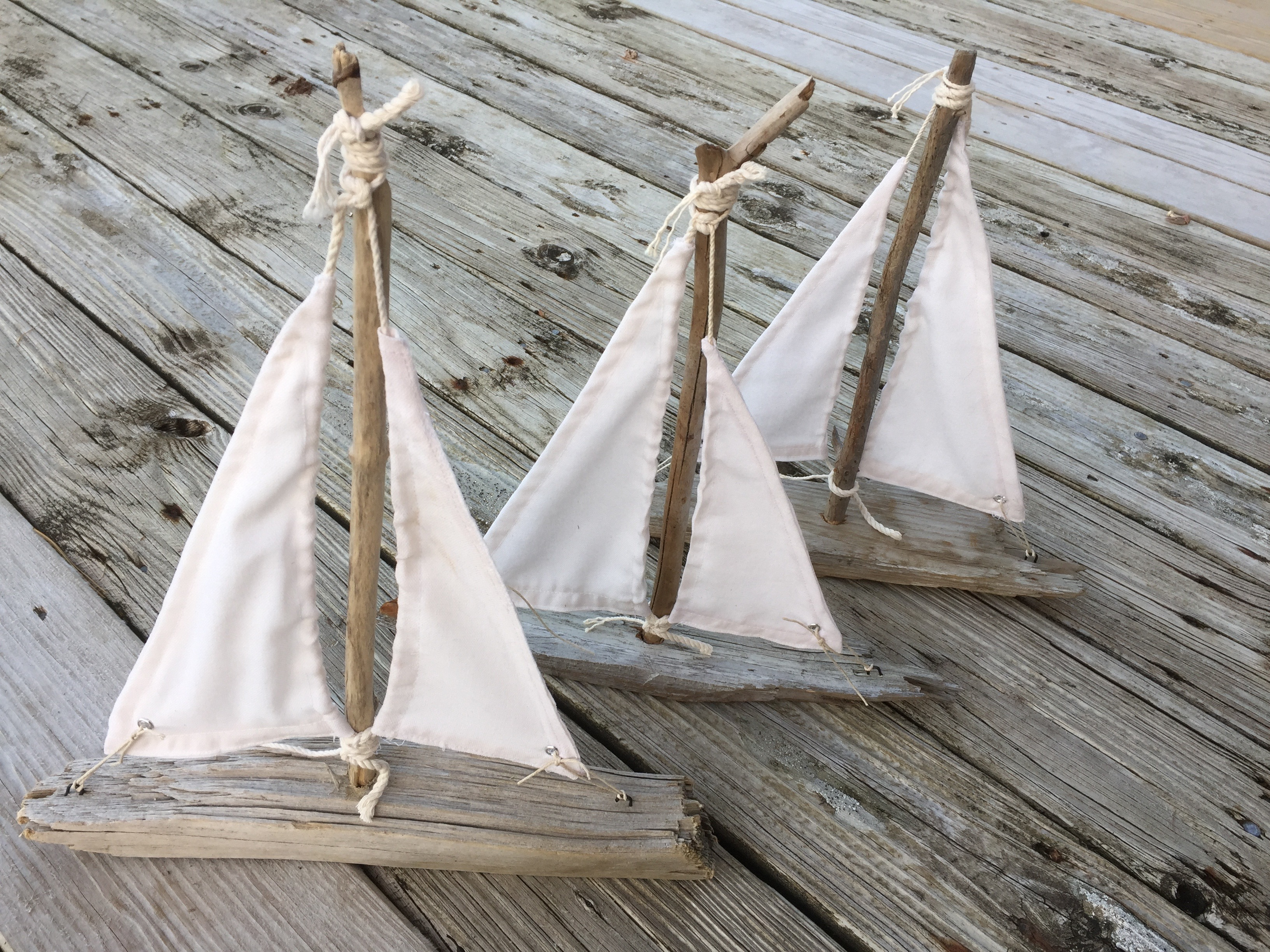 Home salty girl and the long dog for Diy driftwood sailboat